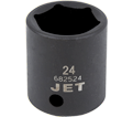 "Impact Socket - Regular 6 Point - 1/2"" Drive - Metric / 6825"