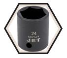 "Impact Socket - Regular 6 Point - 1/2"" Drive - Metric / 6825"