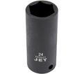 "Impact Socket - Deep 6 Point - 1/2"" Drive - Metric / 6826"