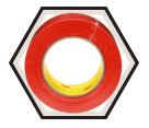 "Stucco Tape - 2"" - Red / 1499 *VENTURE TAPE"