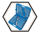 32 Piece Raised Panel TORQUE DRIVE® Combo Wrench Set / 700201