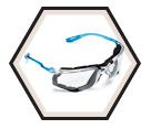 Virtua™ Protective Safety Glasses - Clear / 11872