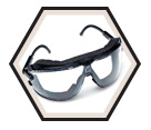 GoggleGear™ Safety Goggles - Clear / 16153