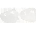 Protective Eyewear Slip-On Side Shields - Clear / 23451-00030