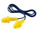 Ear Plugs - Polymer - Push-In - Corded - 25 NRR / 340-4004 *ULTRAFIT