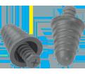 Ear Plugs - Foam - Push-In - Uncorded - 32 NRR / P1300 *SKULL SCREWS