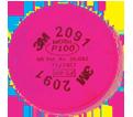 Filter - Particulate - P100 / 2091