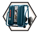 Hand Carry Compressor w/ Wheels / CET4-20W