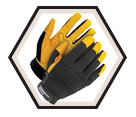 High Performance Gloves - Unlined - Full Grain Goatskin / 20-1-1214