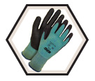 Palm Coated Gloves - Cut Level 3 - Synthetic / 99-1-9729