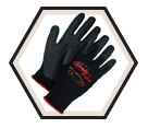 Palm Coated Gloves - Cut Level 1 - Synthetic / Ninja Flex