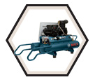 Wheelbarrow Compressor - 1.5 HP / CET8-15W