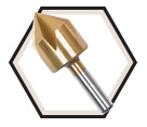 Countersink Bit - Titanium Coated / CST Series