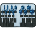 "13 Piece Spade Bit Set - Daredevil™ - 1/4"" to 1-1/2"""