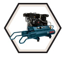 Wheelbarrow Compressor - 6.5 HP / CGT8-65W