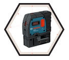 Laser Level - 5-Point - Red - AA Battery / GPL5