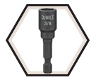"""IMPACT READY™ Magnetic Nut Driver - 3/8"""" x 2"""""""