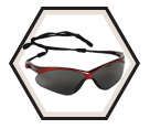 Nemesis™ Safety Glasses - Smoke / 22611