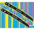 "Jig Saw Blade #4 - 2-3/8"" - 9 TPI / High Speed Steel (5 Pack)"