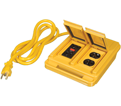 Power Bar - 4 Outlet - Yellow / 4461 *POWER CENTER