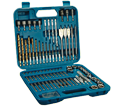 Driver & Drill Bits w/ Accessories Set - Impact - 84 pc / M-00147