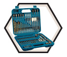 "84 Piece Impact Driver Accessory Kit - 1/4"" Hex"