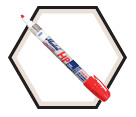 PRO-LINE® HP Liquid Paint Marker - Red