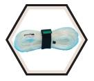Gas Monitor Probe Sampling Line - 25' / Polyurethane