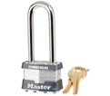 "Tumbler Padlock - 2-1/2"" x 1-3/4"" - Reinforced Laminated Steel / Model #1LJ"