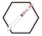 "SAWZALL® Blades - 9"" - 18 TPI (50 Pack)"