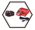 Battery Charger - 12V & 18V Li-Ion / 48-59-1800 Series M18™ & M12™
