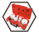 Hole Saw Kit - 18 Piece / 49-22-4155 *Hole Dozer™