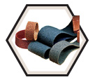 "Surface Conditioning Belt - Alum Oxide/Silicon Carbide - 1/2"" Wide / SB Series"