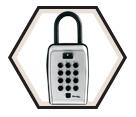 "Lock Box - Combination - 3-1/8"" / 5422D *PORTABLE"