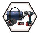 "Drill/Driver (Kit) - 1/2"" - 18 V Li-Ion / DDH183-01 *BRUTE TOUGH"