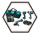 3 Tool Combo Kit - 18V Li-Ion / CALFAST EXCLUSIVE