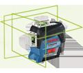 Laser Level - 360° - Green - 12V Li-Ion / GLL3-330CG *BLUETOOTH