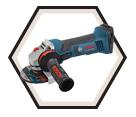 "Angle Grinder (Tool Only) - 5"" dia. - 18V Li-Ion / GWS18V-50"