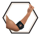 Elbow Wrap - Ambidextrous - Black / 500 *PROFLEX