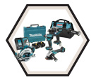 4 Tool Combo Kit - 18V Li-Ion / CALFAST EXCLUSIVE