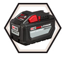 Battery - 18 V (12.0 Ah) - Li-Ion / 48-11-1812 *M18 REDLITHIUM HIGH OUTPUT