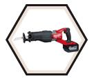"""Reciprocating Saw (Kit) - 1-1/4"""" Stroke - 18V Li-Ion / 2722-21HD *M18 FUEL"""
