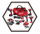 7 Tool Combo Kit - 18V Li-Ion / 2997-27 *M18 FUEL