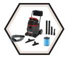 Wet / Dry Vacuum (w/Acc) - 14 gal. - 11 amps / 50348 *1400RV