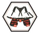 Tool Belt - 24 Pockets - Denier Nylon / 48-22-8120 *CONTRACTOR
