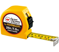 Tape Measure - 25'/7.5m - Imperial & Metric / CF3925IM *PROFESSIONAL