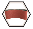 "Sanding Belt - Alum Oxide - 4"" Wide / 309 Series (3 Pack)"