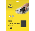"Sand Paper - Silicon Carbide - 9"" x 11"" / PS11 Series (5 Pack)"