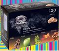 Food Smoker Bisquettes - 8 Hour - 70 oz / BT5FV120 (120 Pack)