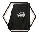 Food Smoker Cover - 4 Rack - Poly Blend / BTWRC